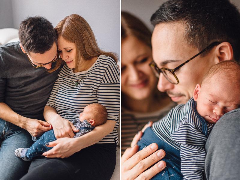 Homestory mit Baby - Paarshooting rund um München
